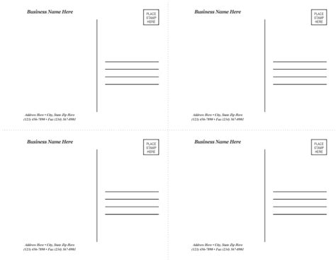avery printable postcards templates avery template postcard invitation template