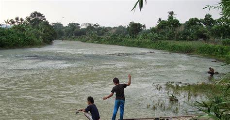 warta pancing memancing  sungai arus deras