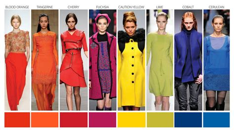 color pattern fashion 2014 fashion color trends meet interior color trends