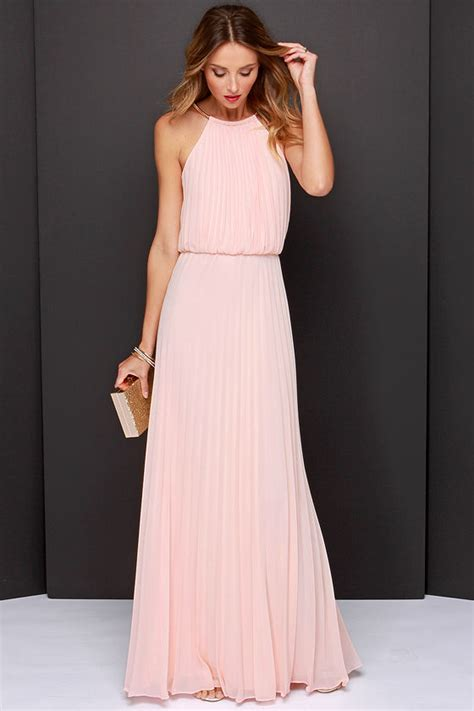 lulu s bariano melissa dress peach dress maxi dress 228 00