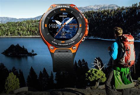 Casio Protrek Wsd F20 Like New ces 2017 casio pro trek wsd f20 smart watchuseek