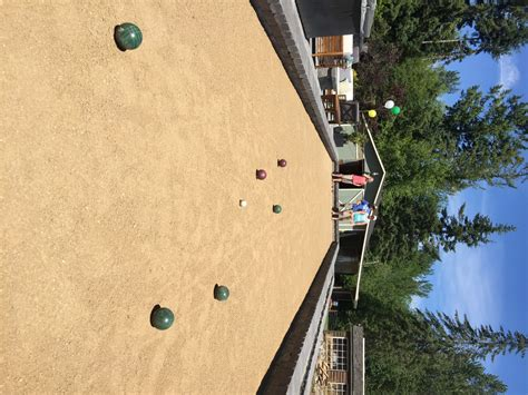 bocce court bocce court materials