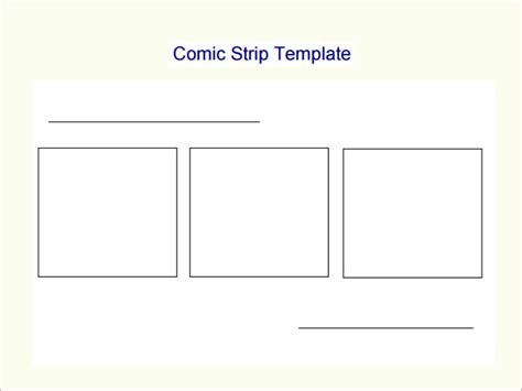 printable blank comic template for 7 best images of comic template printable comic
