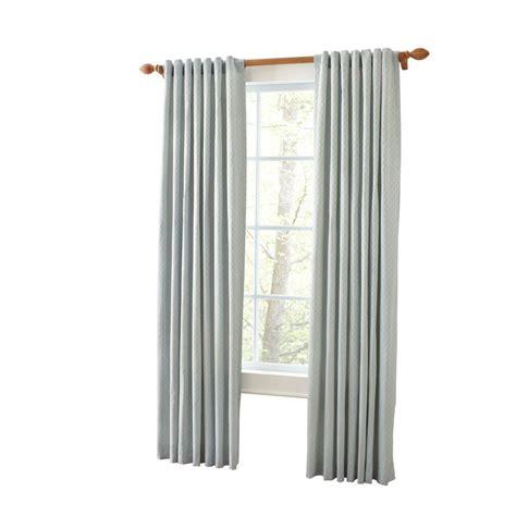 curtain depot martha stewart living rainwater faux silk back tab curtain