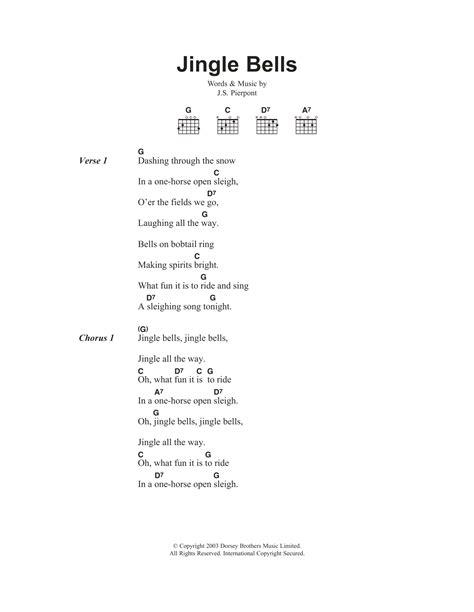 jingle bells rock testo jingle bells sheet j pierpont lyrics chords