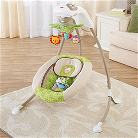 papasan swing for adults fisher price deluxe cradle n swing rainforest friends