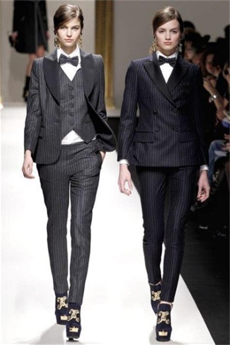 Mannish Chic At Fashion Week stile maschile per donne inverno 2014 foto stylosophy
