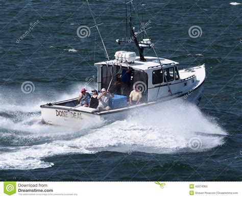 charter boat only way deep sea fishing charter editorial stock photo image of