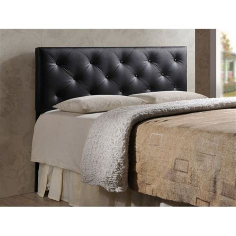leather headboards queen atlin designs upholstered queen faux leather headboard