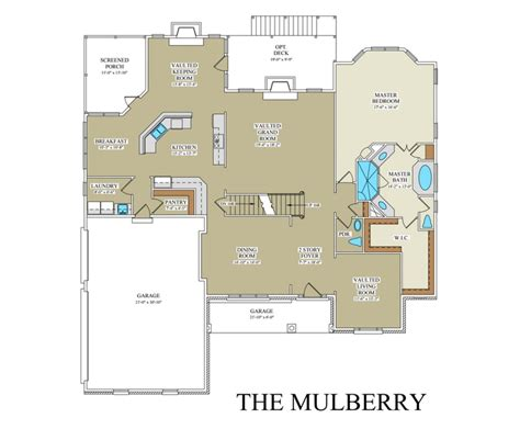 mulberry floor plan mulberry custom floor plan best builder frederick county va