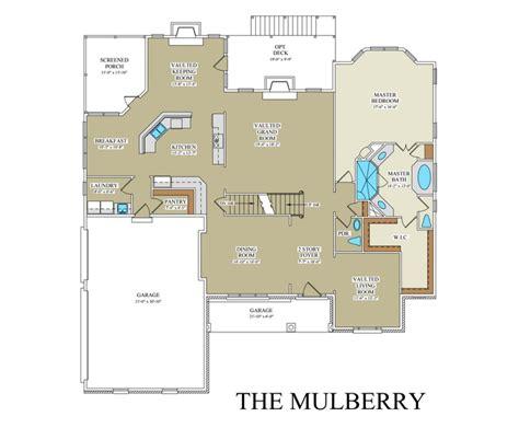 Mulberry Floor Plan | mulberry custom floor plan best builder frederick county va
