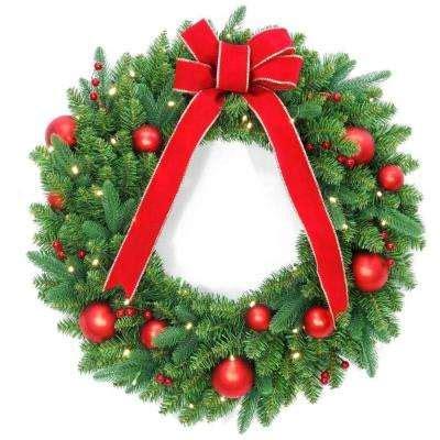 battery christmas wreaths christmas wreaths garland