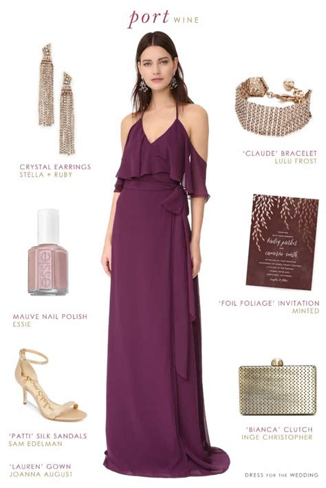 plus size wine colored dress wine colored bridesmaid dress dress for the wedding