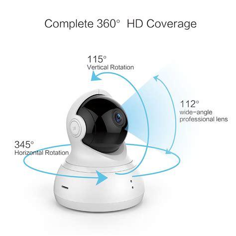 Promo Xiaomi Xiaoyi Yi Dome Ip Cctv 360 Internasional international edition xiaomi 720p hd xiaoyi yi dome home ip 112 quot 360 degree ptz smart