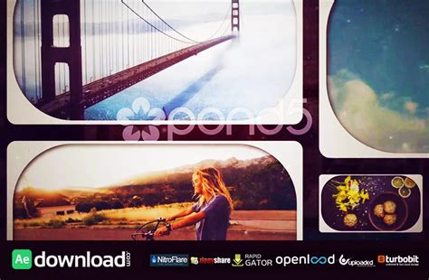 Grid Photo Collage Free Download Template Pond5 Free After Effects Template Videohive Projects Collage After Effects Template Free