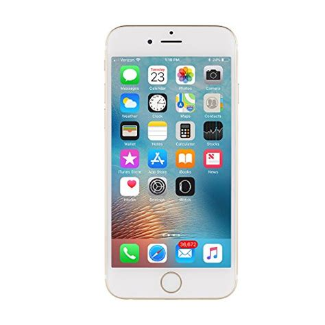 apple iphone 6 16 gb unlocked gold certified refurbished import it all