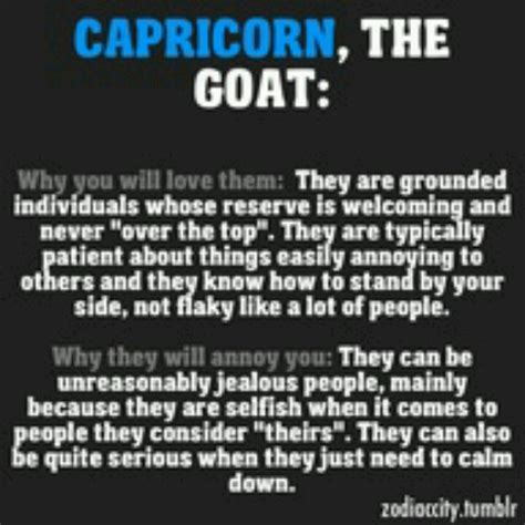 why you will love a capricorn they are grounded