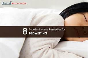 excellent home remedies for bedwetting