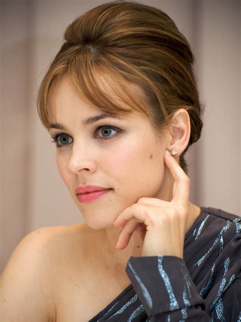actress who had dark hair and a mole rachel mcadams her 8 best hair looks styleicons