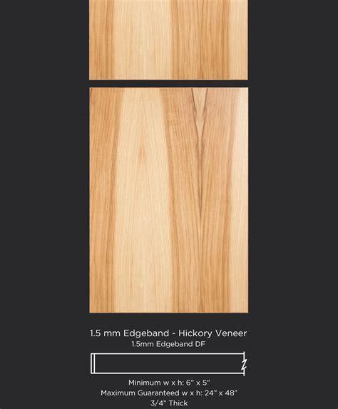 Cabinet Door Veneer 1 5 Mm Edgeband Hickory Veneer Taylorcraft Cabinet Door Company