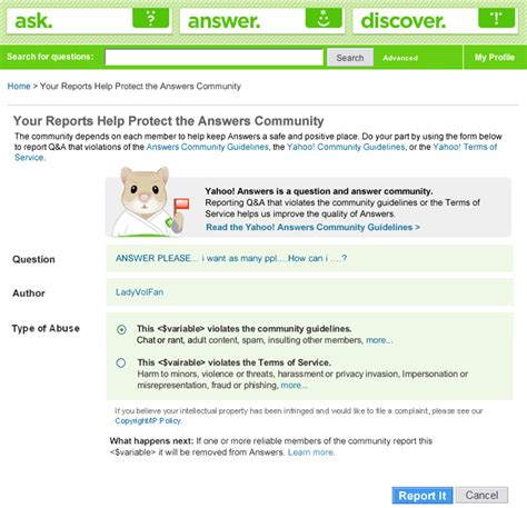 s day yahoo answers building web reputation systems the a study