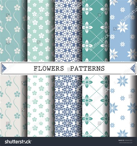 svg pattern fill url flower vector patternpattern fills web page stock vector