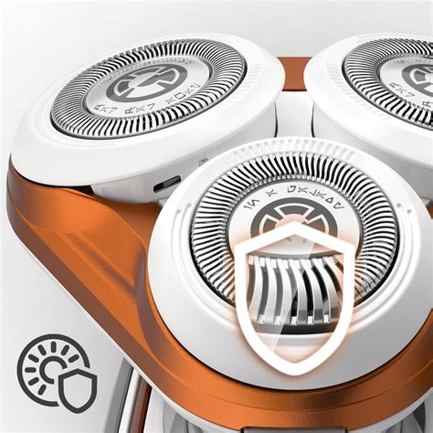 Philips Sw5700 07 Starwars Bb 8 Shaver philips sw5700 07 wars shaver series 3000 special