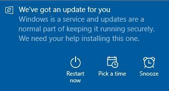install windows 10 notification windows10 update notification alexander s blog
