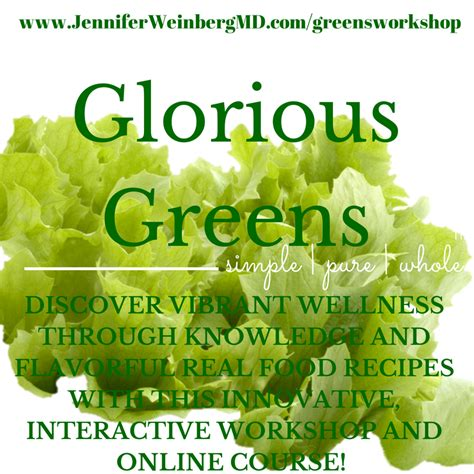 fabulous recipes for vibrant health a collection of 200 recipe ideas that promote energy vitality and longevity books glorious greens for great health workshop dr l