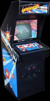 arcade cabinets asteroids 1979 and asteroids deluxe