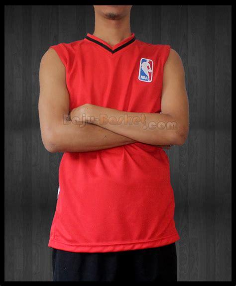 Buat Baju Basket Desain Kaos Basket Nba Merah Jb 18