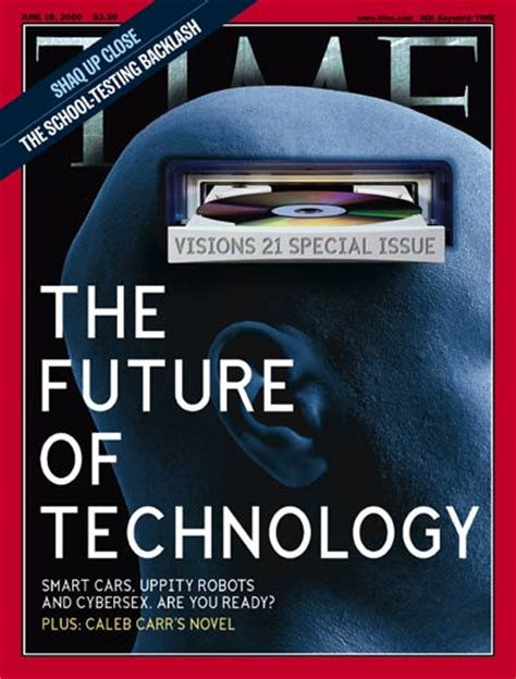 time magazine cover future of technology june 19 2000 innovation computers inventions