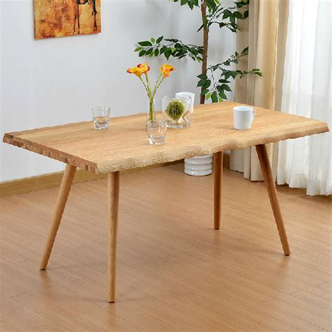 Simple Dining Tables White Oak Solid Wood Dining Table Modern Simple Nordic Dining Table And Chair In Outdoor