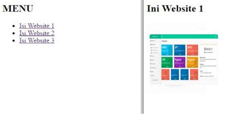 cara membuat link di dalam html membuat link di dalam frame
