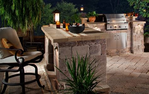 bbq outdoor kitchen islands built in bbq legacy pavers