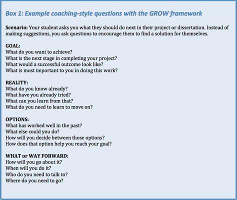 grow coaching template pc3 coaching toolkit the grow model