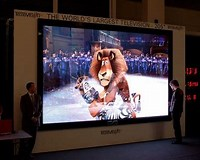 Image result for Biggest TV in The world. Size: 200 x 160. Source: www.nohomers.net