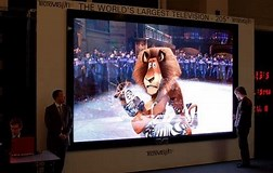 Image result for What is The Biggest TV in The World?. Size: 252 x 160. Source: moneyexpertsteam.blogspot.com
