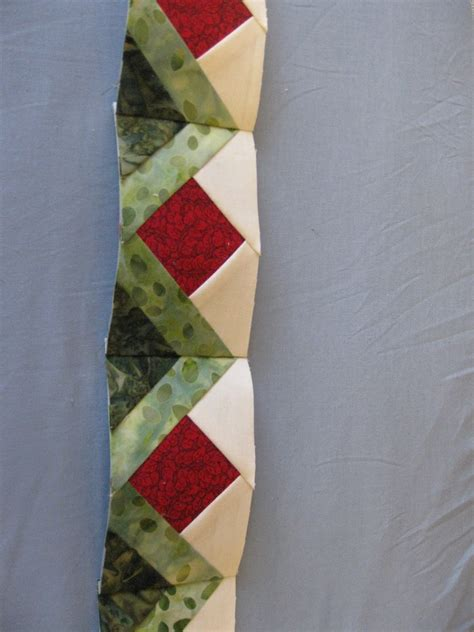 Quilt Border Tutorial by The Ladybug S Garden Paper Piecing With Fabric