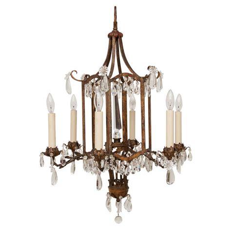 kronleuchter orientalisch style 6 light chandelier at 1stdibs