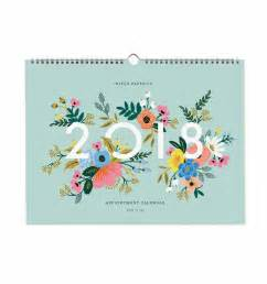 Calendar 2018 Appointment 2018 Appointment Wall Calendar By Rifle Paper Co Made