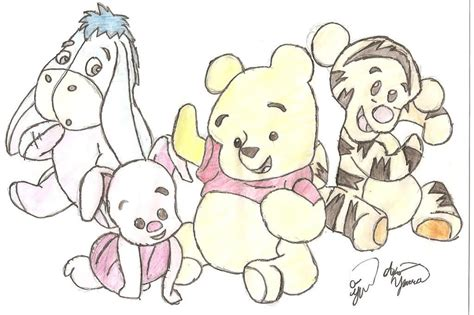 baby pooh images pooh drawings hd wallpaper background photos 24007631