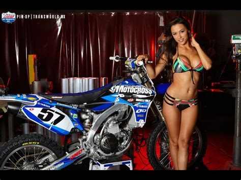 Kaos Fangkeh Since 1903 Biker Motorcycle Pin Up transworld motocross pin ups motocross