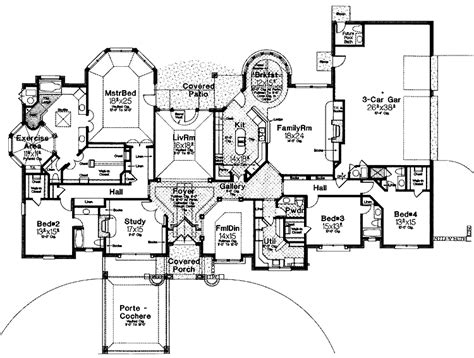 cool floor plans modern house