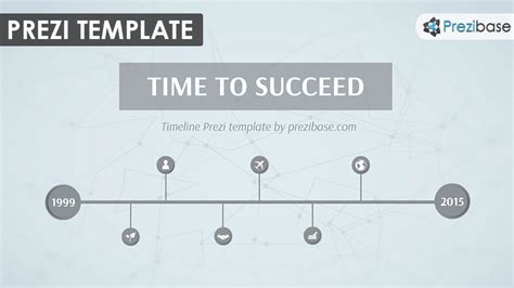 Colors That Work With Gray time to succeed prezi template prezibase