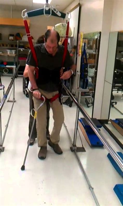 Back In Rehab Againagain by Post Stroke Learning To Walk Again The Rehab Centre