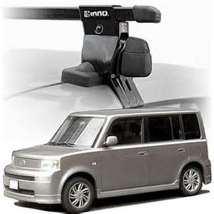 2005 scion xb roof rack complete system inno rack with