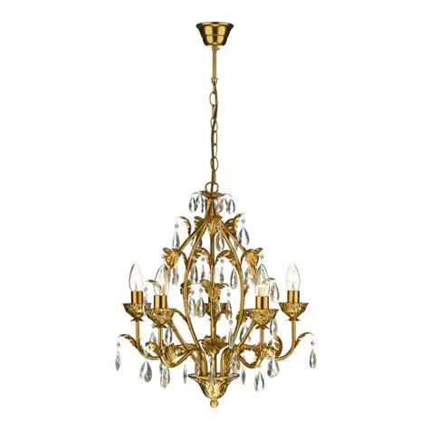 Traditional Chandelier Lighting Cha0563 Charleston 5 Light Traditional Chandelier Antique Gold Finish