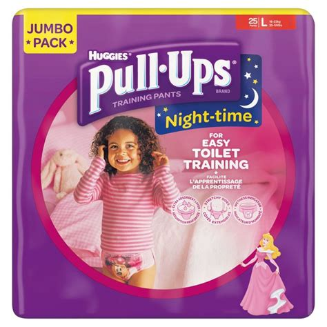 huggies pull ups girls morrisons huggies pull ups night time for girls large
