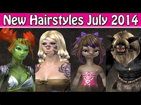 asura guild wars 2 new hairstyles for females guild wars 2 new hairstyles july 2014 youtube